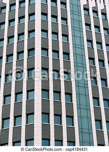 El bloque de oficinas - csp4184431