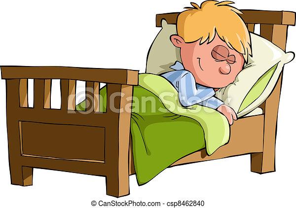 El chico duerme - csp8462840