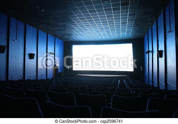 El cine está vacío - csp2596741