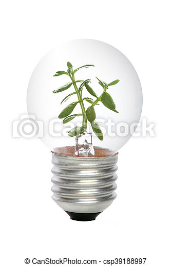 El concepto de energía verde - csp39188997