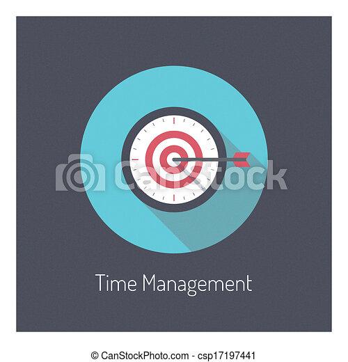 El concepto de ilustración del tiempo - csp17197441