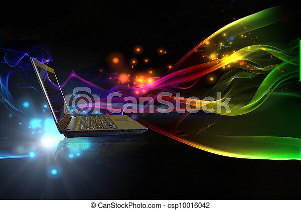 El concepto de Internet de los negocios globales - csp10016042