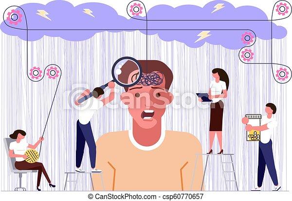 El concepto de problemas mentales - csp60770657