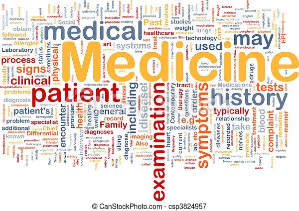 El concepto de salud médica - csp3824957