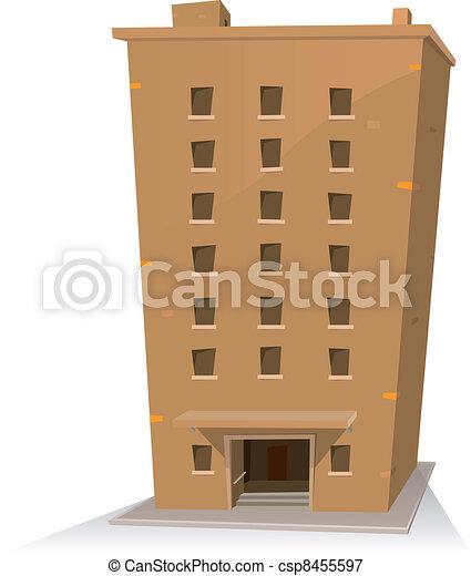 El edificio Cartoon - csp8455597