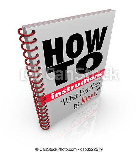 El manual de instrucciones de cómo hacerlo - csp8222579