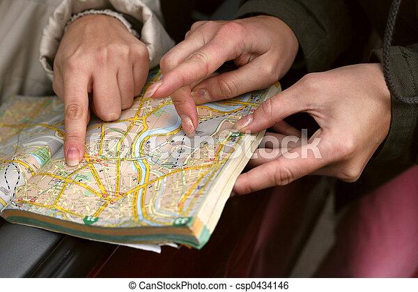 El mapa de la calle - csp0434146