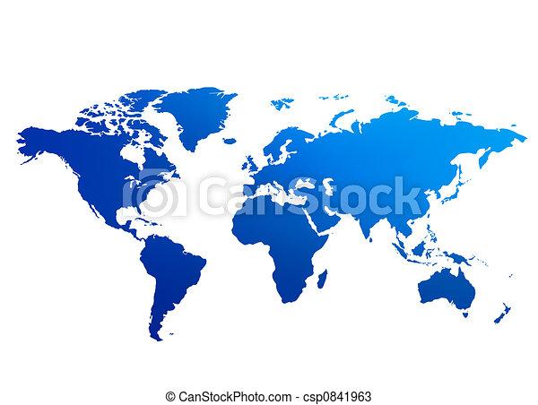 El mapa del mundo - csp0841963