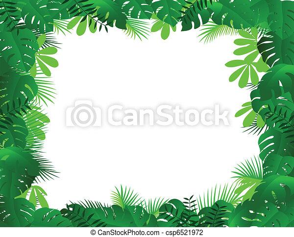 El marco del bosque - csp6521972
