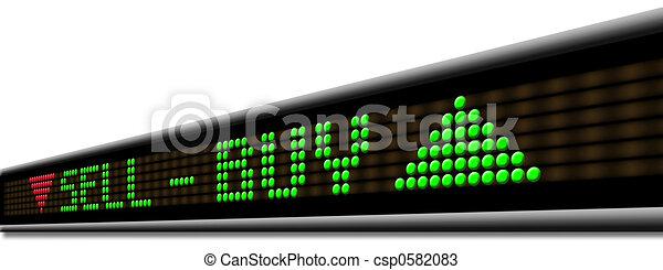 El mercado de valores - csp0582083