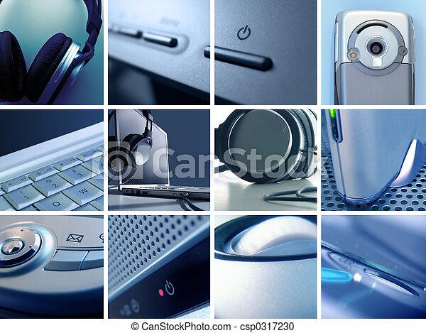 El montaje tecnológico II - csp0317230