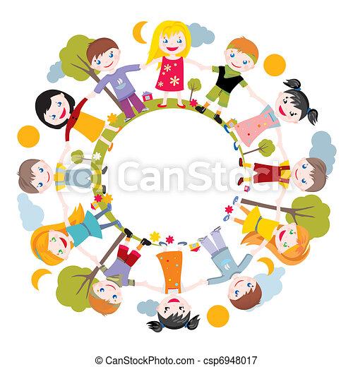 El mundo de la infancia - csp6948017