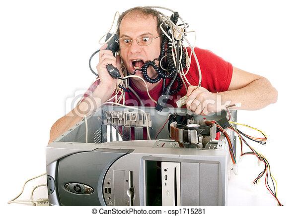 El pánico tecnológico - csp1715281