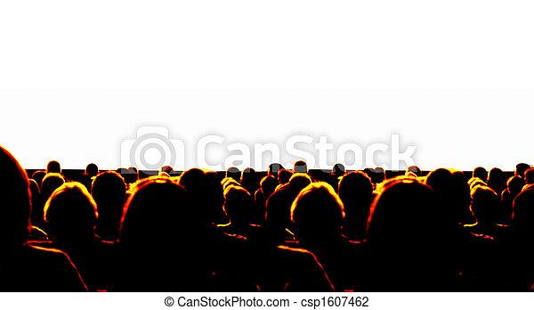 El público de negocios - csp1607462