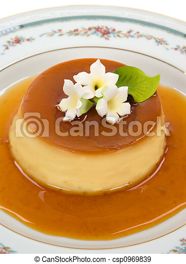 El postre de gourmet - csp0969839