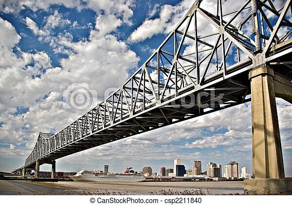 El puente del río Mississippi - csp2211840
