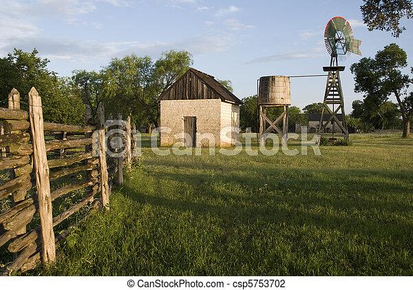 El rancho Johnson - csp5753702