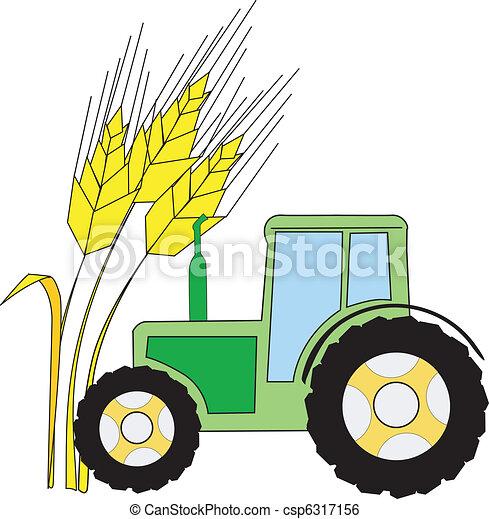 El símbolo de la agricultura - csp6317156