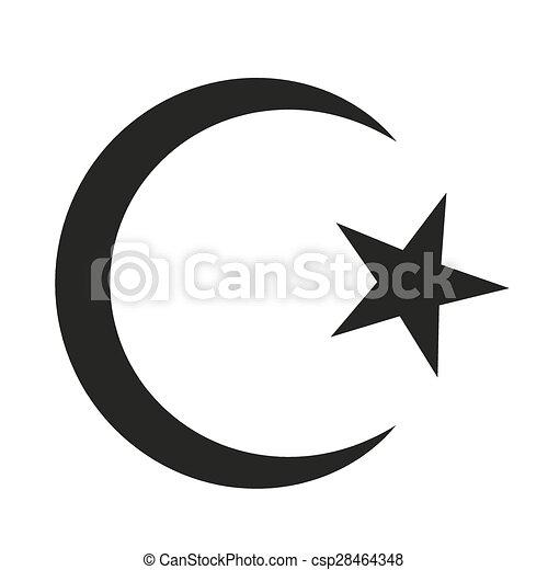El símbolo del Islam - csp28464348