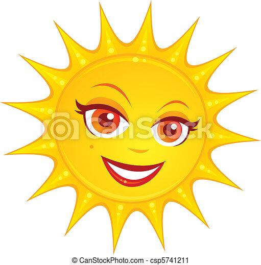 El sol del verano - csp5741211