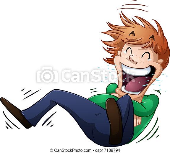 El tipo se reía en el suelo - csp17189794