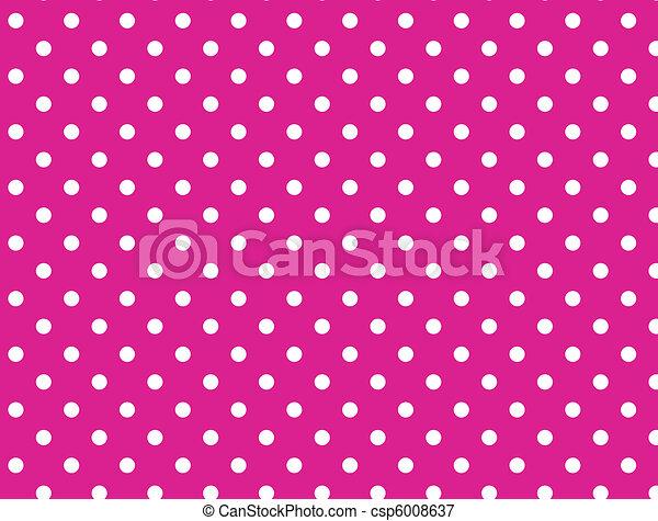 El vector tiene 8 puntos rosados - csp6008637