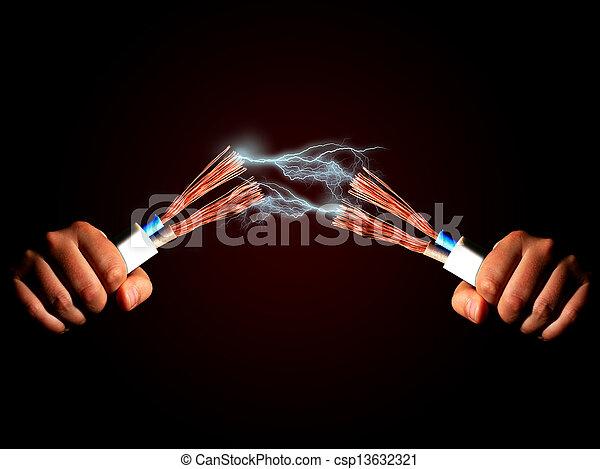 Electricidad. - csp13632321