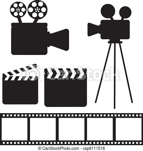 Elementos de cine - csp8111516
