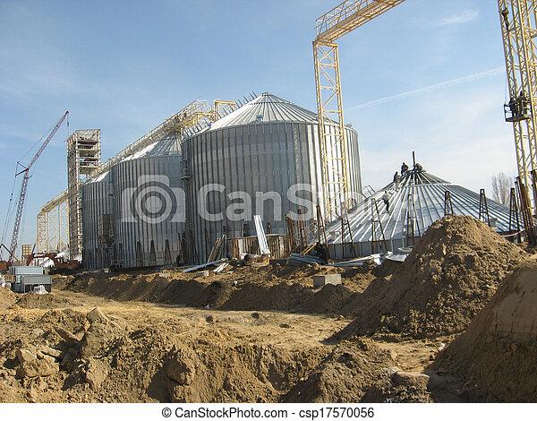 Ascensor de granos - csp17570056