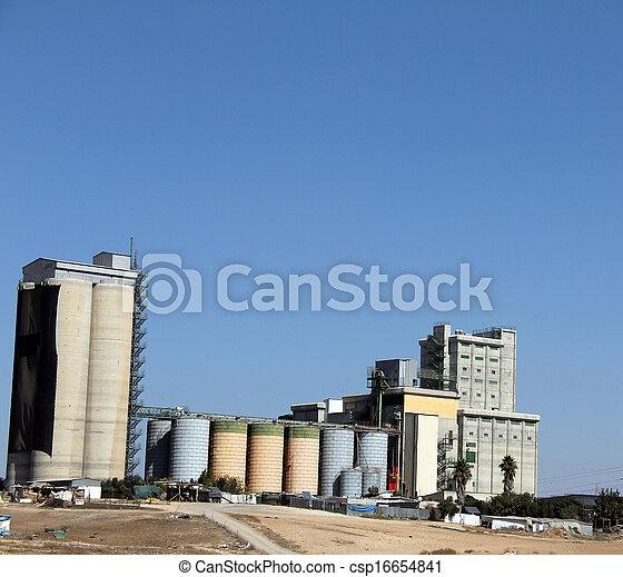 Ascensor de grano - csp16654841
