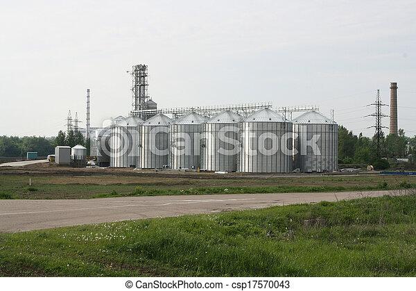 Ascensor de grano - csp17570043