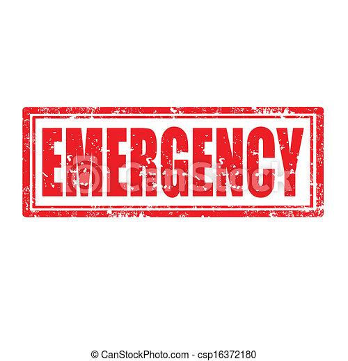 Señal de emergencia - csp16372180