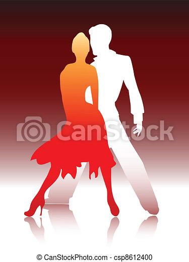 Un par de bailes - csp8612400