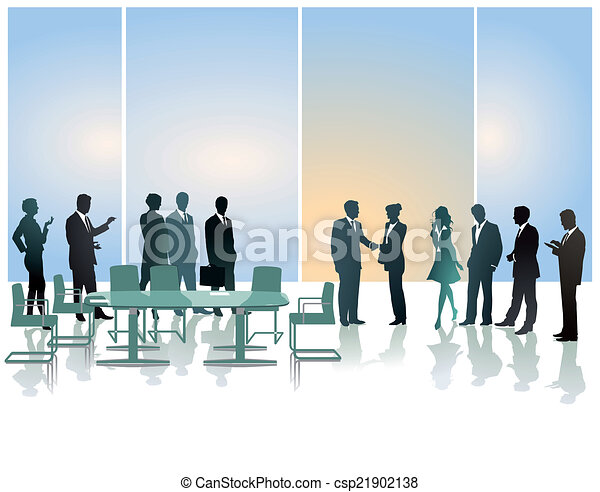 Recepción de negocios - csp21902138