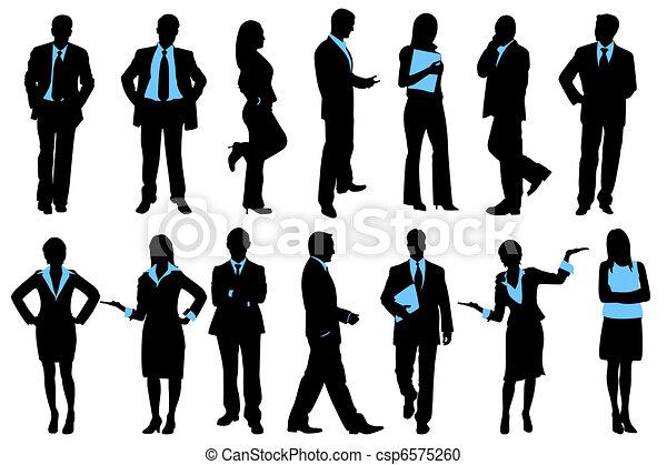 Gente de negocios - csp6575260
