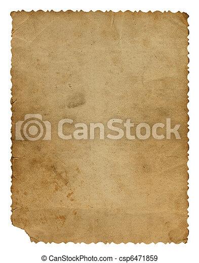 Grunge alienado diseño de papel en el estilo de recortes - csp6471859