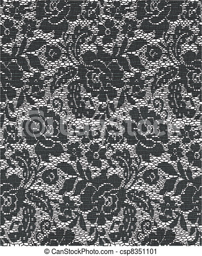 encaje de Cloth - csp8351101