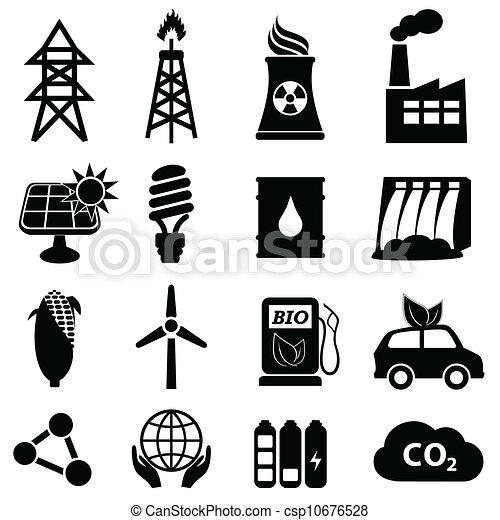 Un icono de energía - csp10676528
