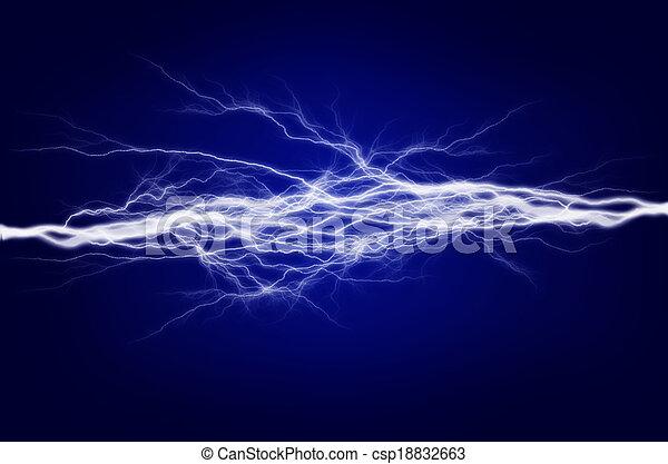 Energía pura y electricidad - csp18832663