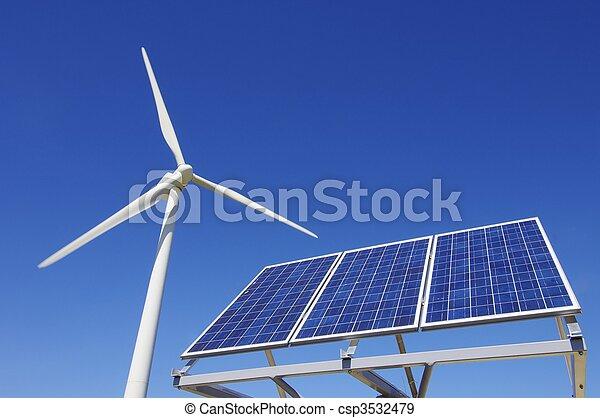 Energía renovable - csp3532479