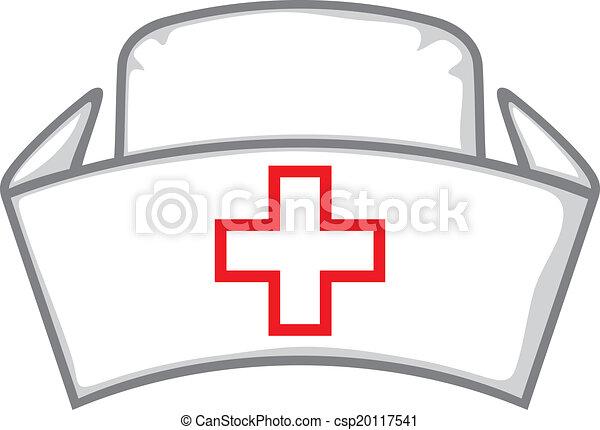 Un gorro de enfermera - csp20117541