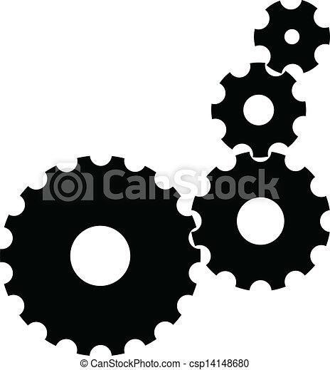 Engranajes Vector - csp14148680