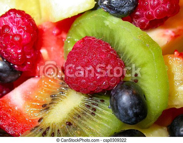Ensalada de frutas - csp0309322