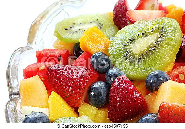Ensalada de frutas - csp4507135