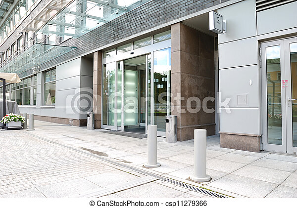 Entrada de oficina moderna - csp11279366