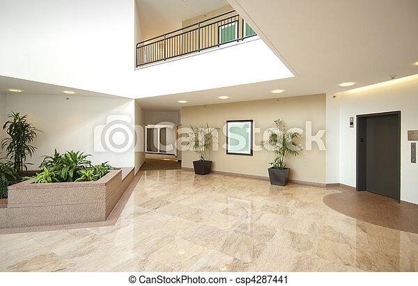 Entrada del vestíbulo - csp4287441