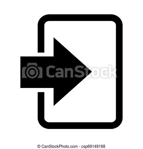 Entra en icono - csp69149168