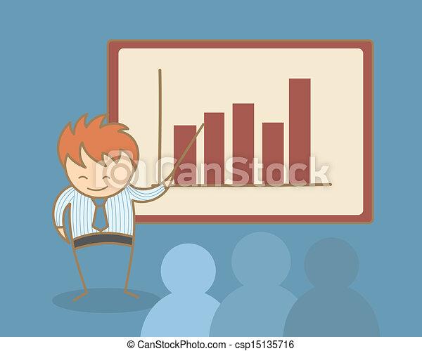 Entrenamiento de negocios - csp15135716