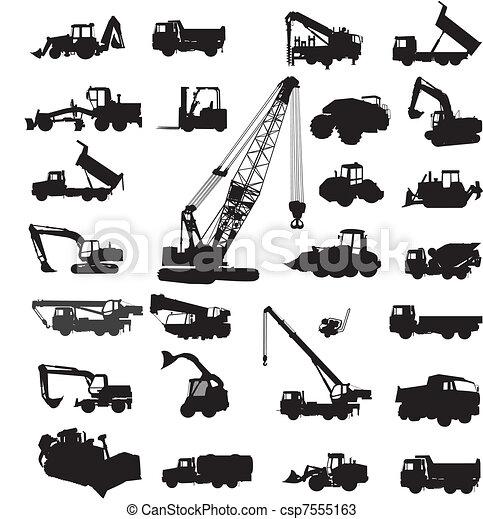 Construcción y equipo de construcción - csp7555163