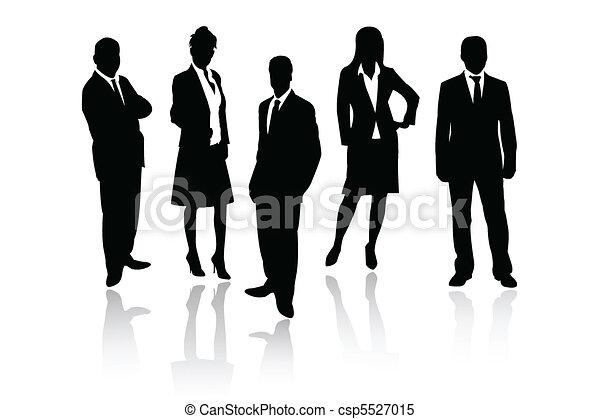 Equipo de negocios - csp5527015